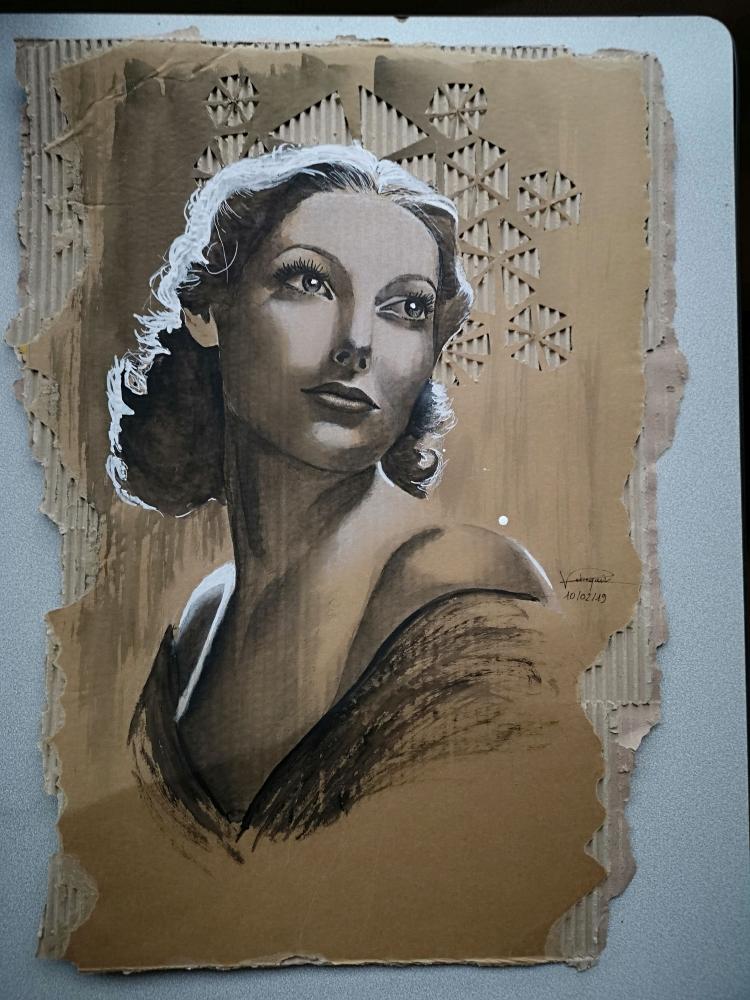 Loretta Young by Mushu